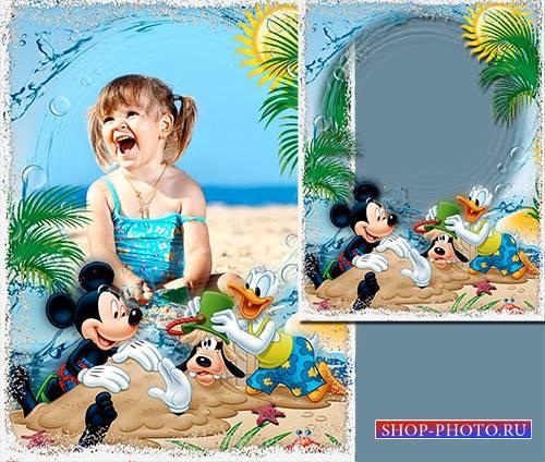 Фоторамочка - Пляжный день