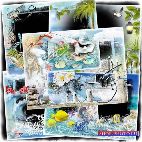 Рамки для фото - Ах. море