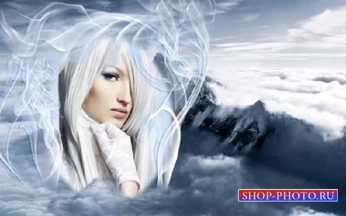 Фоторамка для фотошопа - На вершине Эвереста