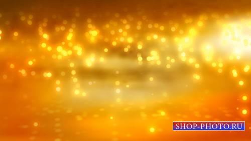 Футаж - Дождь из золота