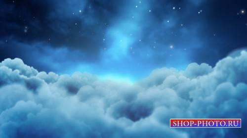 Футаж - Звёздная ночь