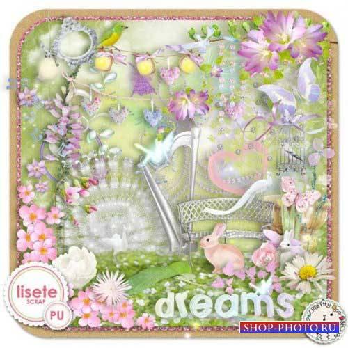 Романтический скрап-комплект - Мечты