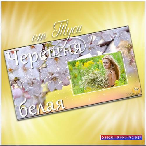 Черешня белая - Романтический проект ProShow Producer