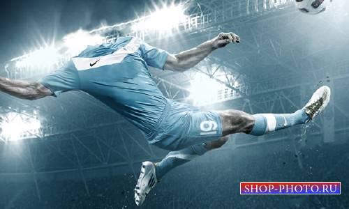 Шаблон для мужчин - Футболист