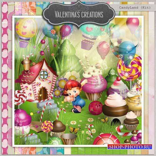 Детский скрап-набор - CandyLand