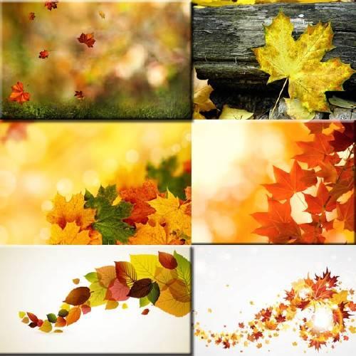 Клипарт растровый - Осень пришла