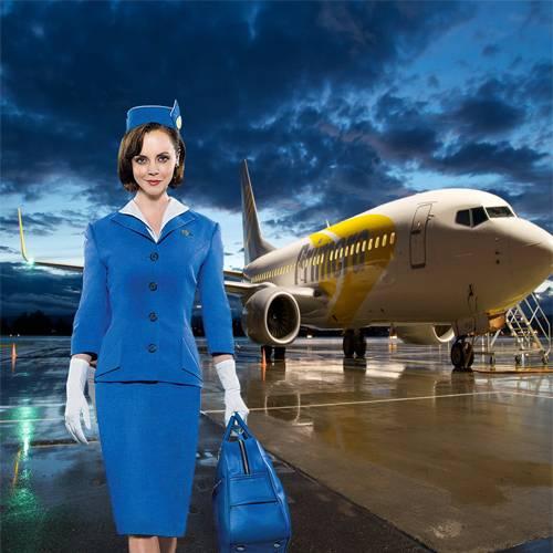 Шаблон  женский – После полёта