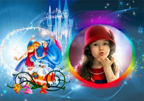 Рамка детская – Ночь волшебства