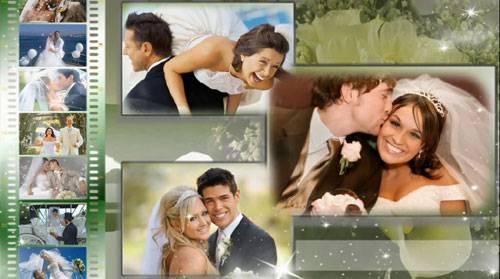 Свадебный проект для ProShow Producer - Счастливые моменты