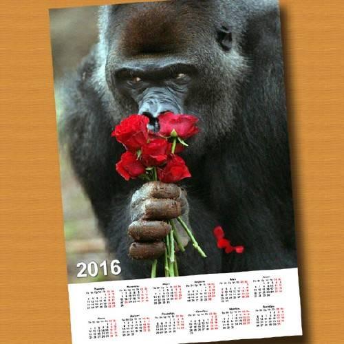 Календарная сетка - Эти розы для тебя