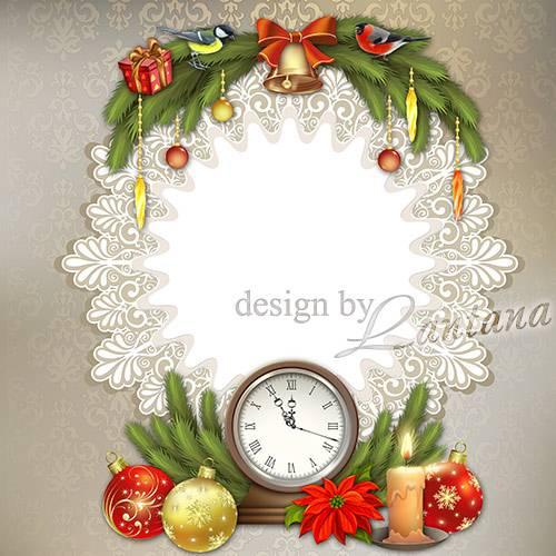 PSD исходник - Волшебный праздник новогодний 8