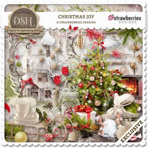 Новогодний скрап-комплект - Рождественская радость