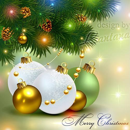 PSD исходник - Волшебный праздник новогодний 23