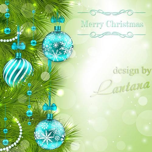 PSD исходник - Волшебный праздник новогодний 25