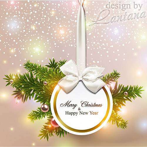 PSD исходник - Волшебный праздник новогодний 26