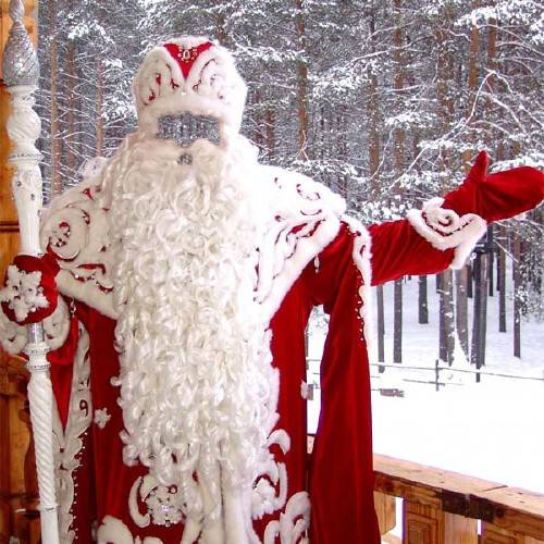 Шаблон для мужчин - Дедушка Мороз
