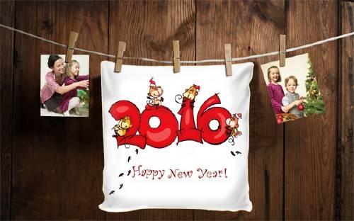 Рамка для фотографии - С Новым годом 2016