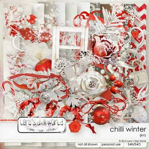 Новогодний скрап-комплект - Chilli Winter
