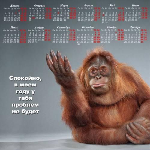 Настенный календарь - Проблем не будет