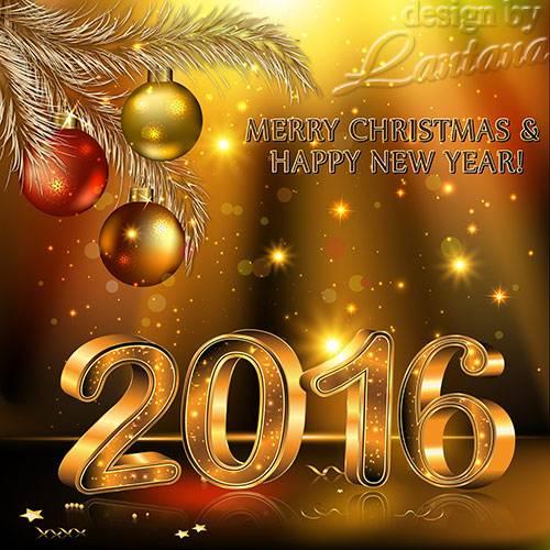PSD исходник - Волшебный праздник новогодний 37