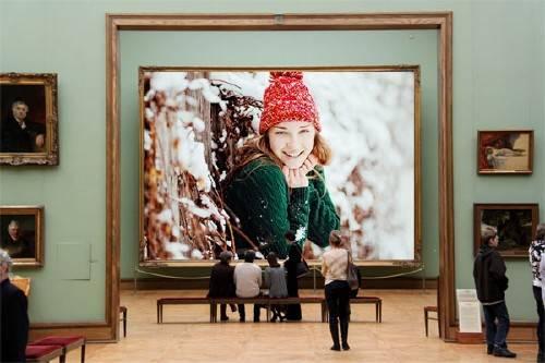 Рамка для фото - Ваша картина в галерее