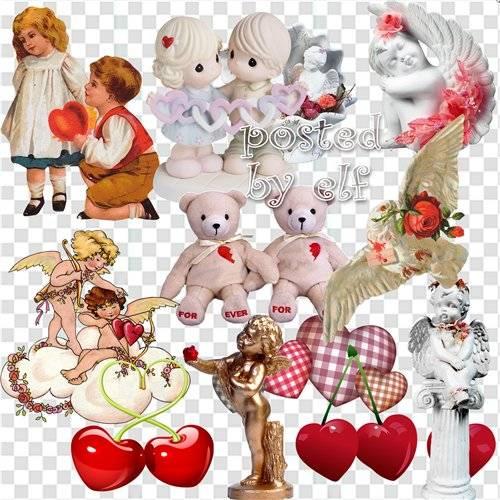 Прими от сердца валентинку в этот прекрасный светлый день - клипарт без фон ...
