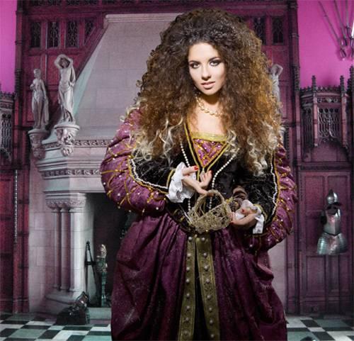 Шаблон  женский – Рыцарский зал