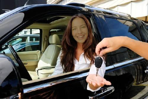 Шаблон для фотошопа - Приобретение нового автомобиля