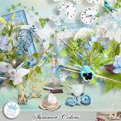 Летний скрап-набор - Цвета лета