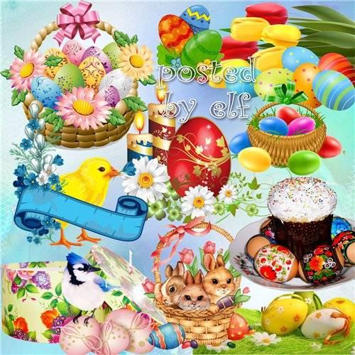 Счастливой Пасхи искренне желаем - клипарт png