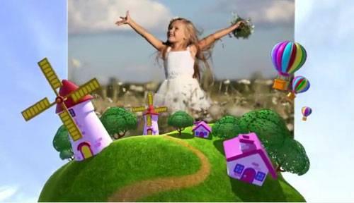 Детский проект для ProShow Producer - Путешествие вокруг земли