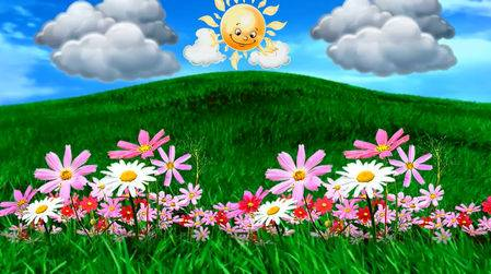 Видео футаж - Весна