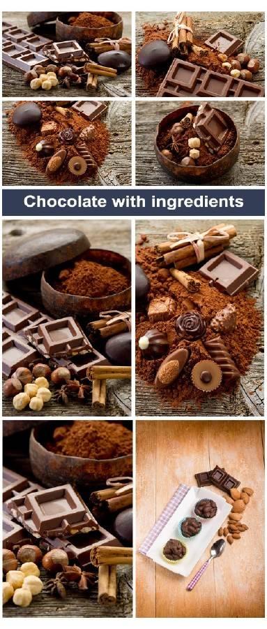 Шоколад с ингредиентами | Chocolate with ingredients