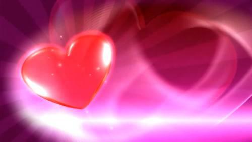 Футаж - Искрящееся сердце