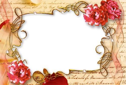Рамка для фотографии - Любовное письмо