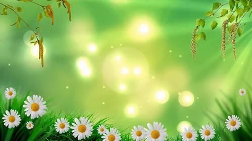 Видео футаж - Пришла Весна