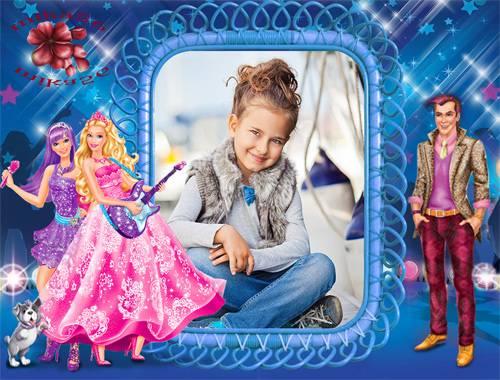 Рамка детская – Рок принцесса