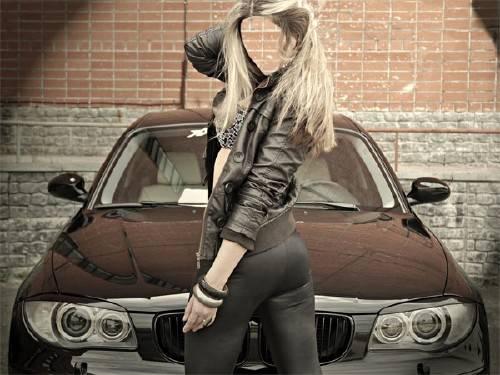 Шаблон для фотошопа - Любителям марки BMW