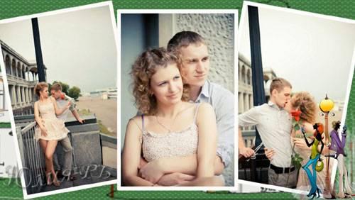 Проект для ProShow Producer - История нашей любви