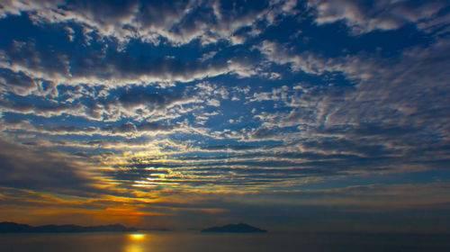 Футаж - Закат на озере