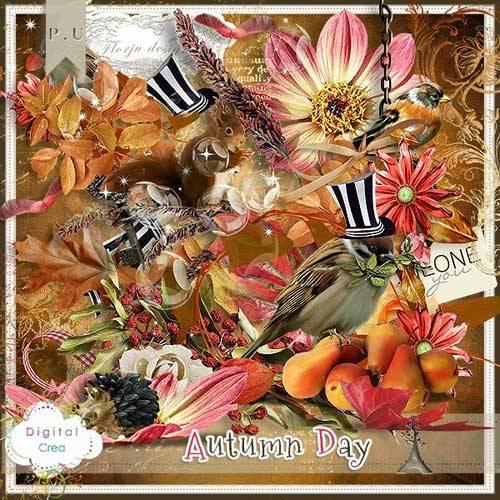Осенний скрап-набор - Осенний денёк