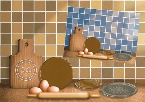 Исходник для фотошопа – На кухне
