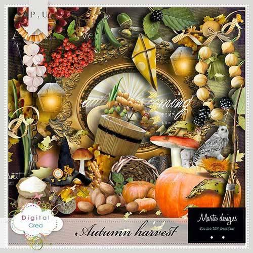 Осенний скрап-набор - Осенний урожай