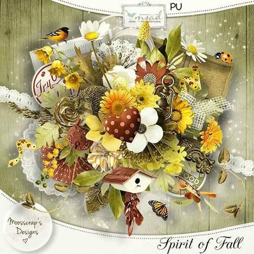 Осенний скрап-набор - Дыхание осени