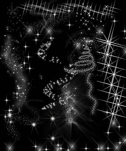 Клипарт для фотографий - Звездное небо