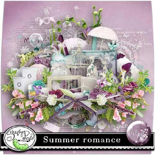 Романтический скрап-набор - Летняя романтика