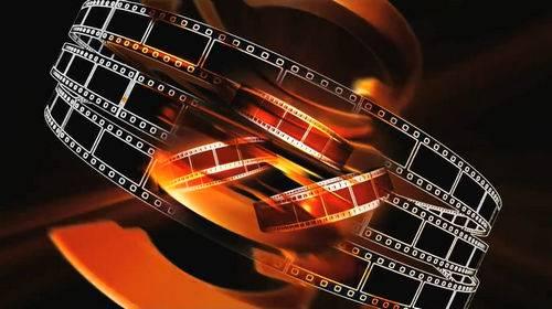 Видео футаж с кинопленкой