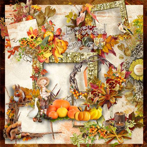 Осенний клипарт – Унылая пора! Очей очарованье
