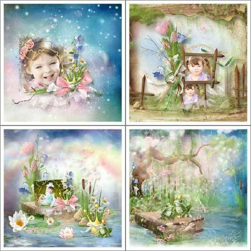 Scrap kit - The Frog Prince
