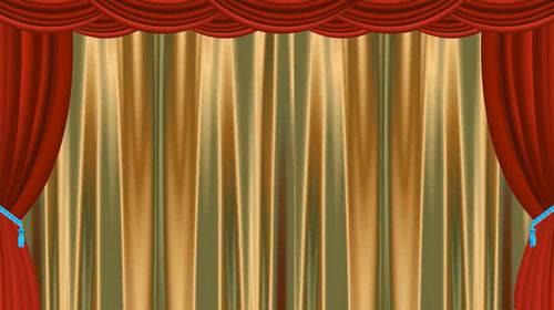 Футаж - Театральный занавес